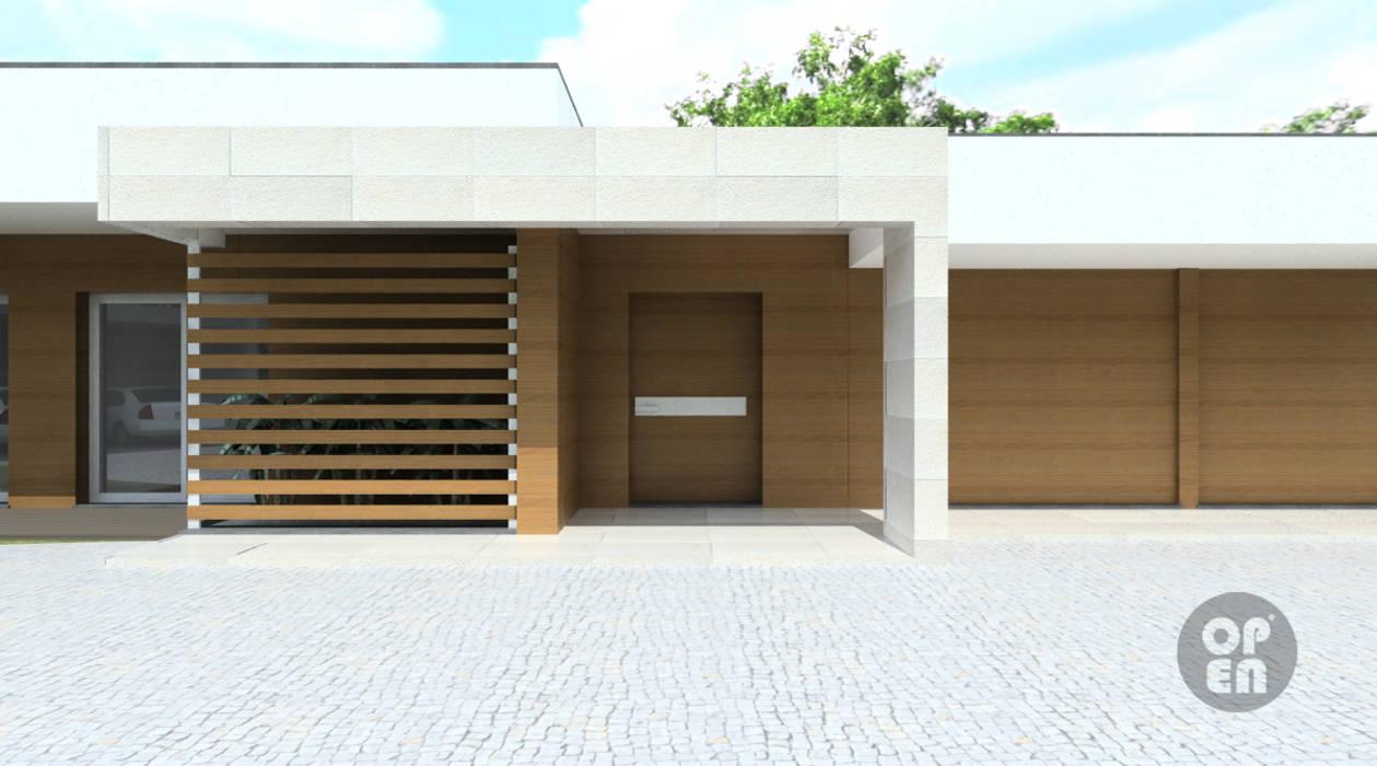 모던스타일 주택 by ATELIER OPEN ® - Arquitetura e Engenharia 모던