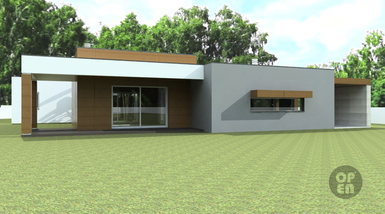 ATELIER OPEN ® - Arquitetura e Engenharia Moderne Häuser