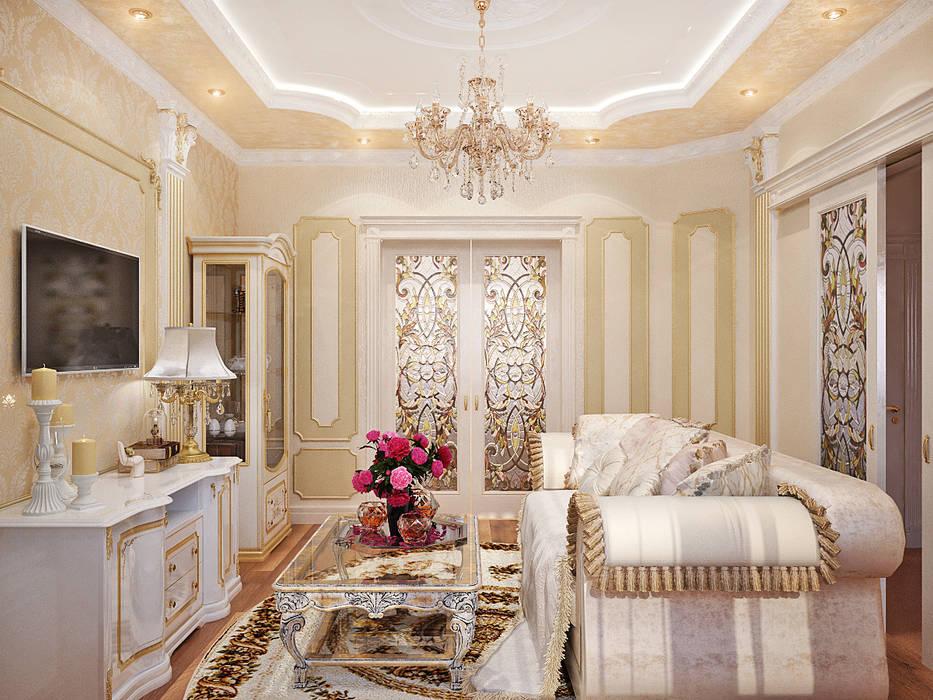 Living room by Студия дизайна Interior Design IDEAS, Classic
