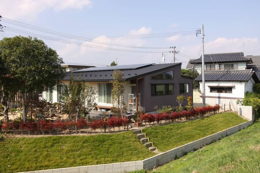 Häuser von アトリエグローカル一級建築士事務所, Landhaus