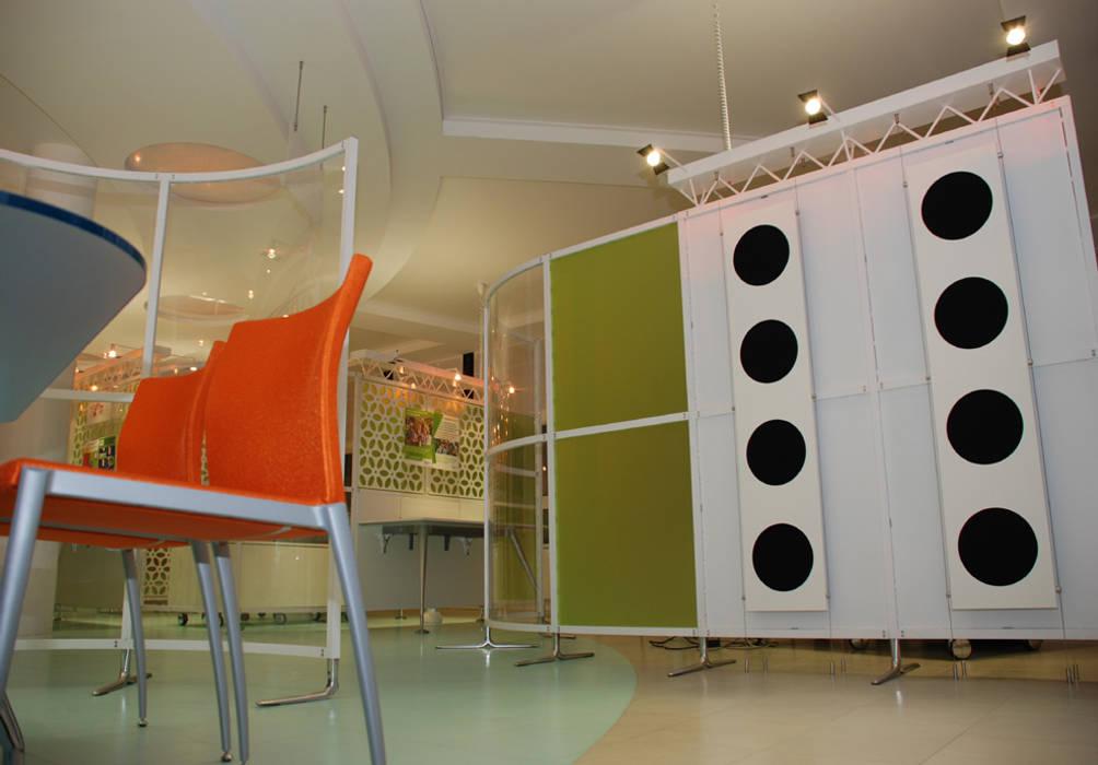 TRAITEMENT ACOUSTIQUE: Bureaux de style  par DEYDIER WILFRID ARCHITECTURE
