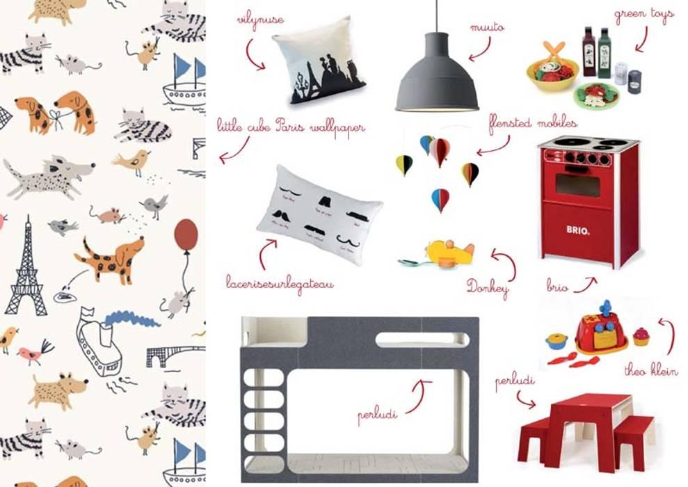 Decorazioni per la cameretta ispirate a Parigi amisuradibimbo Stanza dei bambiniAccessori & Decorazioni