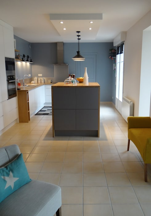 Scandinavian kitchen by un amour de maison | homify