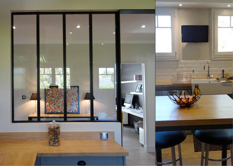 un int rieur r invent cuisine de style par un amour de. Black Bedroom Furniture Sets. Home Design Ideas