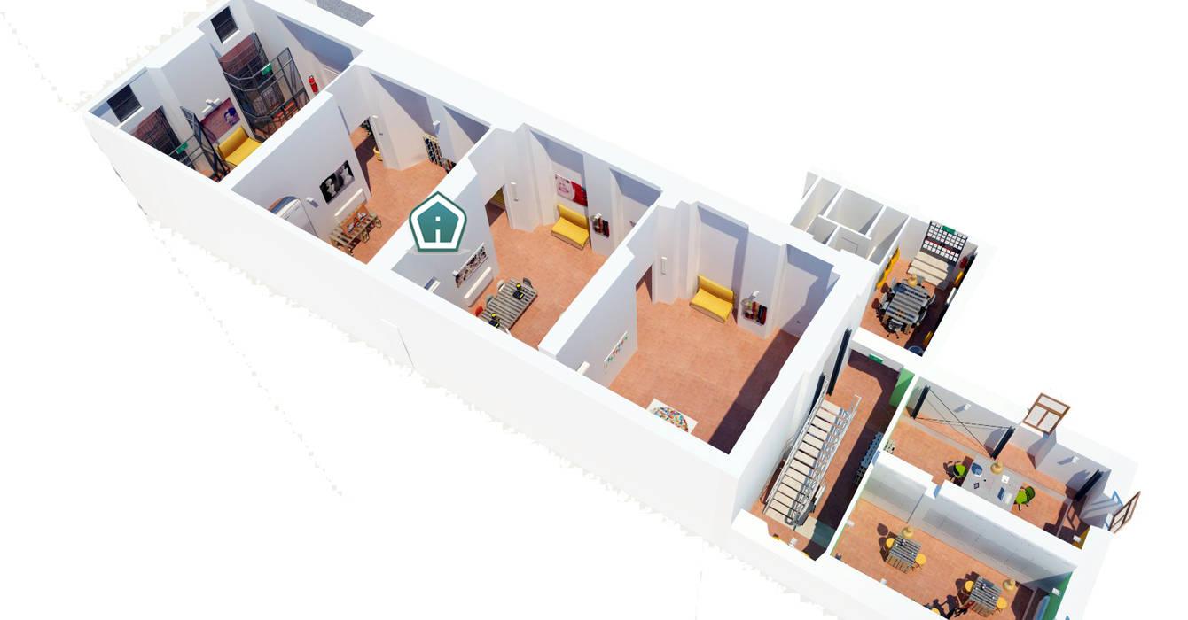 Concorso FacciAmo Spazio: Sala multimediale in stile  di 3d Casa Design