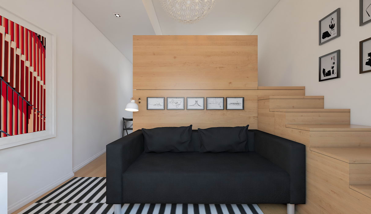 Ruang Keluarga Minimalis Oleh José Tiago Rosa Minimalis