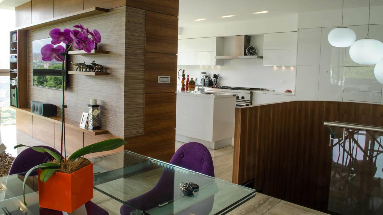 PH Altozano Cocinas de estilo moderno de VODO Arquitectos Moderno