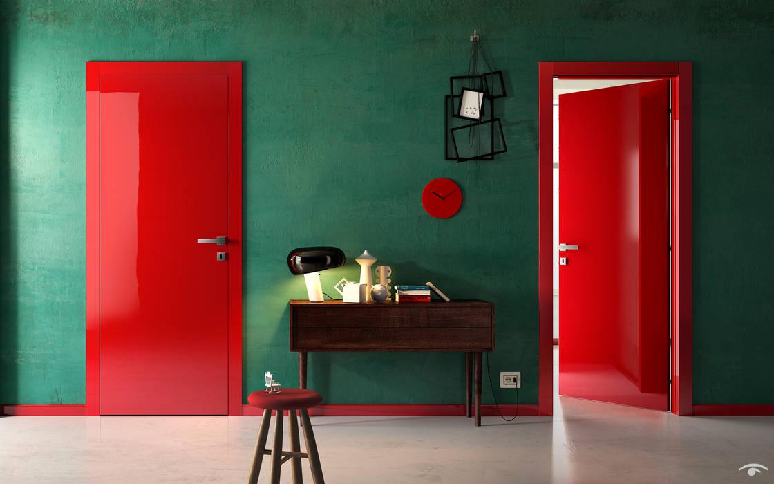 Progetti Pasillos, vestíbulos y escaleras de estilo moderno de info8258 Moderno