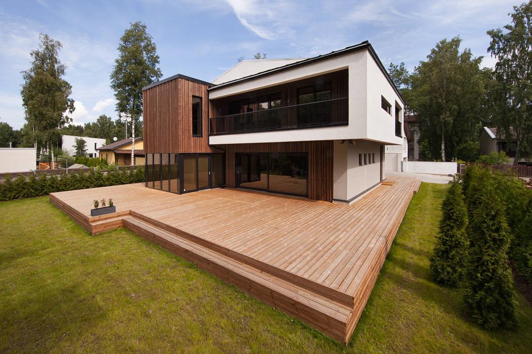 Suburban House: Дома в . Автор – Heut Architects