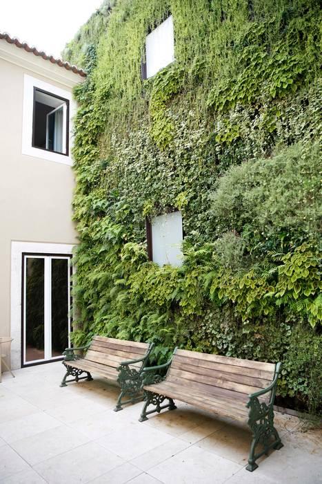 Hoteles de estilo  por LC Vertical Gardens