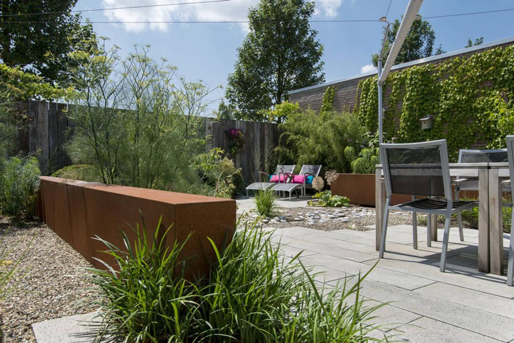 Jardines de estilo ecléctico de De Rooy Hoveniers Ecléctico