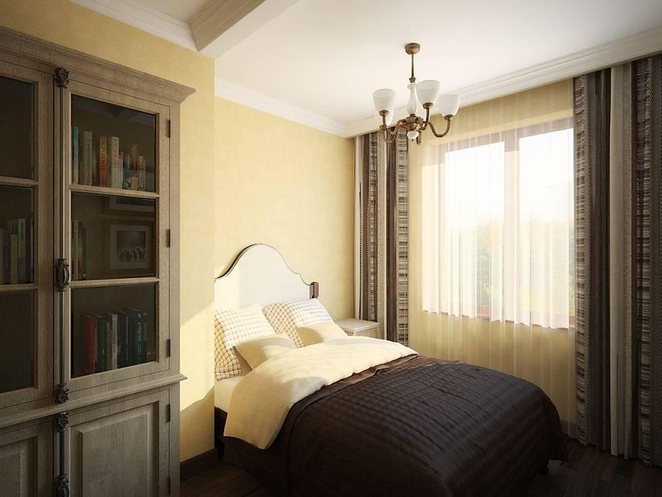 ПРИРОДНЫЕ СОСТАВЛЯЮЩИЕ Спальня в стиле лофт от Дизайн студия Алёны Чекалиной Лофт
