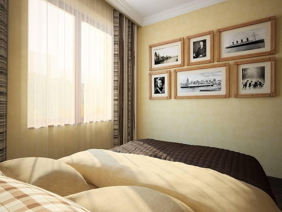 ПРИРОДНЫЕ СОСТАВЛЯЮЩИЕ: Спальни в . Автор – Дизайн студия Алёны Чекалиной, Лофт