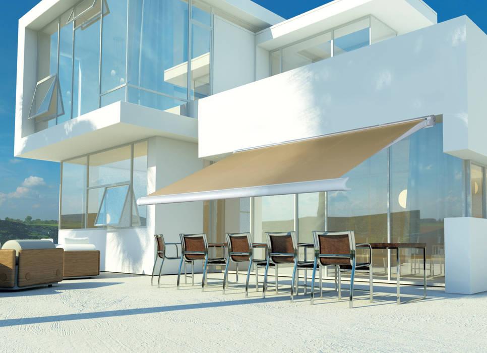 Tende Per Esterno Bar.Tenda Per Esterni Bar Club Moderni Di Els Home Moderno Alluminio