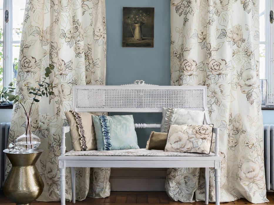 Tende d\'arredamento: soggiorno in stile in stile classico di els ...
