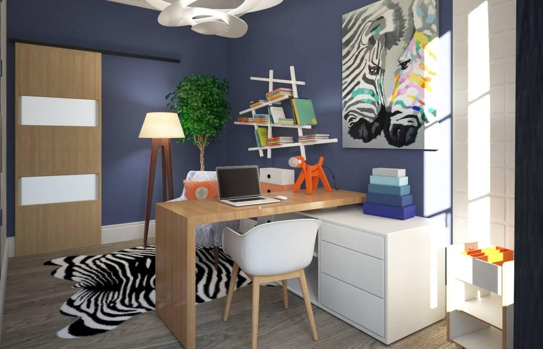 bureau design par Concept d'intérieur Moderne