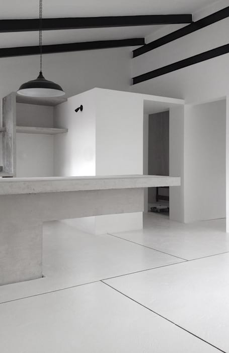 Minimalist dining room by CENTRAL ARQUITECTURA Minimalist