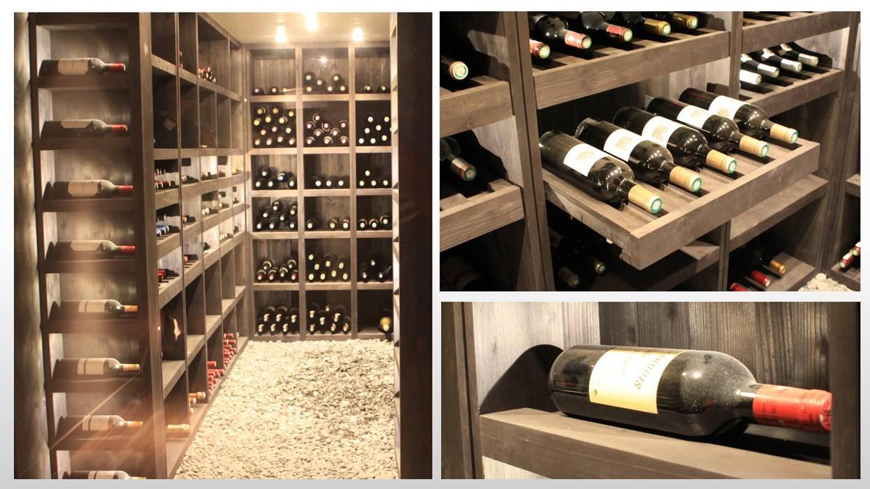 Maison - le Vésinet: Cave à vin de style  par ARCHITECTURAL DECO, Moderne