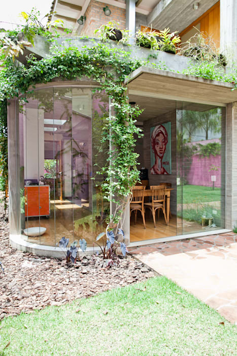 Jardin d'hiver moderne par Estúdio Paulo Alves Moderne
