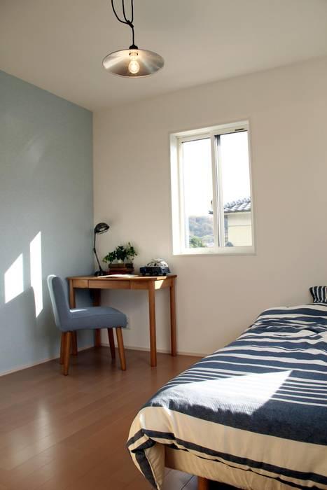 Live Sumai - アズ・コンストラクション - Scandinavian style bedroom