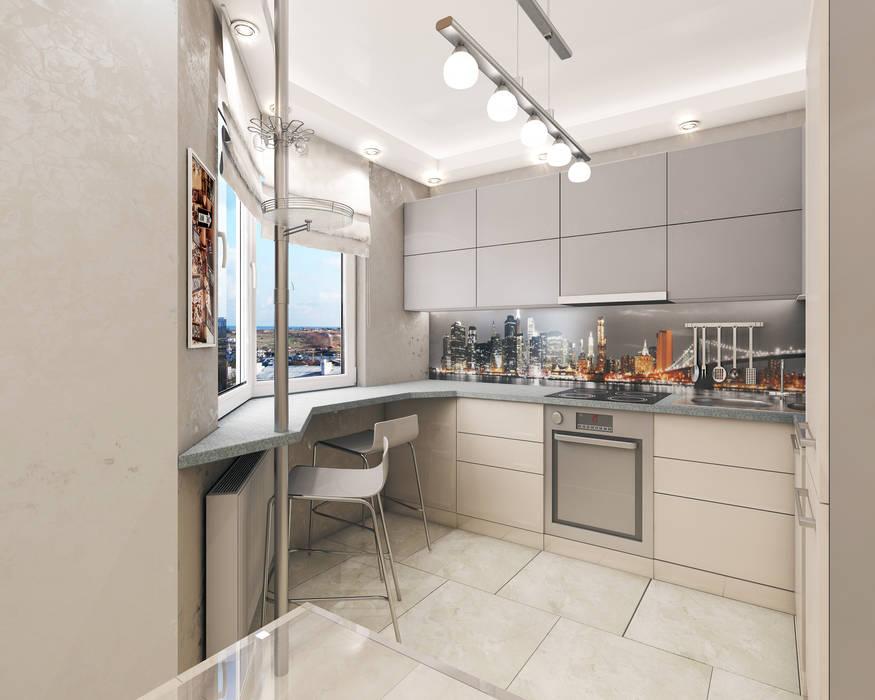 Лето Дизайн Kitchen Beige