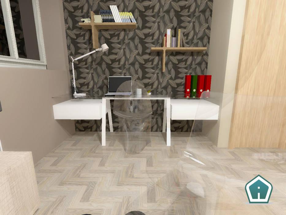 Camere: Studio in stile in stile Moderno di 3d Casa Design