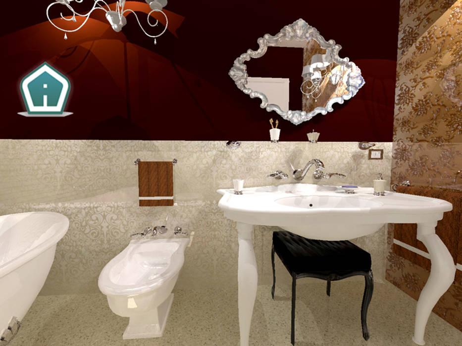 Bagni: Bagno in stile in stile classico di 3d Casa Design