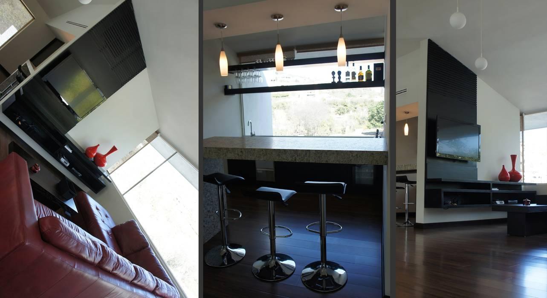 TREVINO CHABRAND Taller de Arquitectura TREVINO.CHABRAND | Architectural Studio Salones modernos