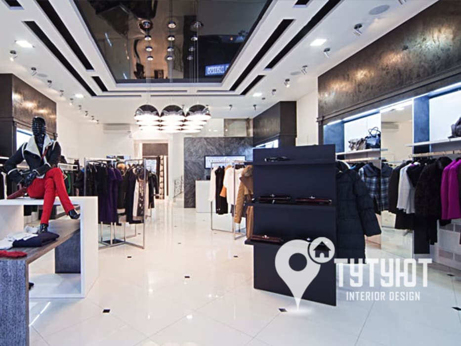 Магазин мультибрендовой одежды MUST HAVE: Офисы и магазины в . Автор – Interior Design Studio Tut Yut, Модерн