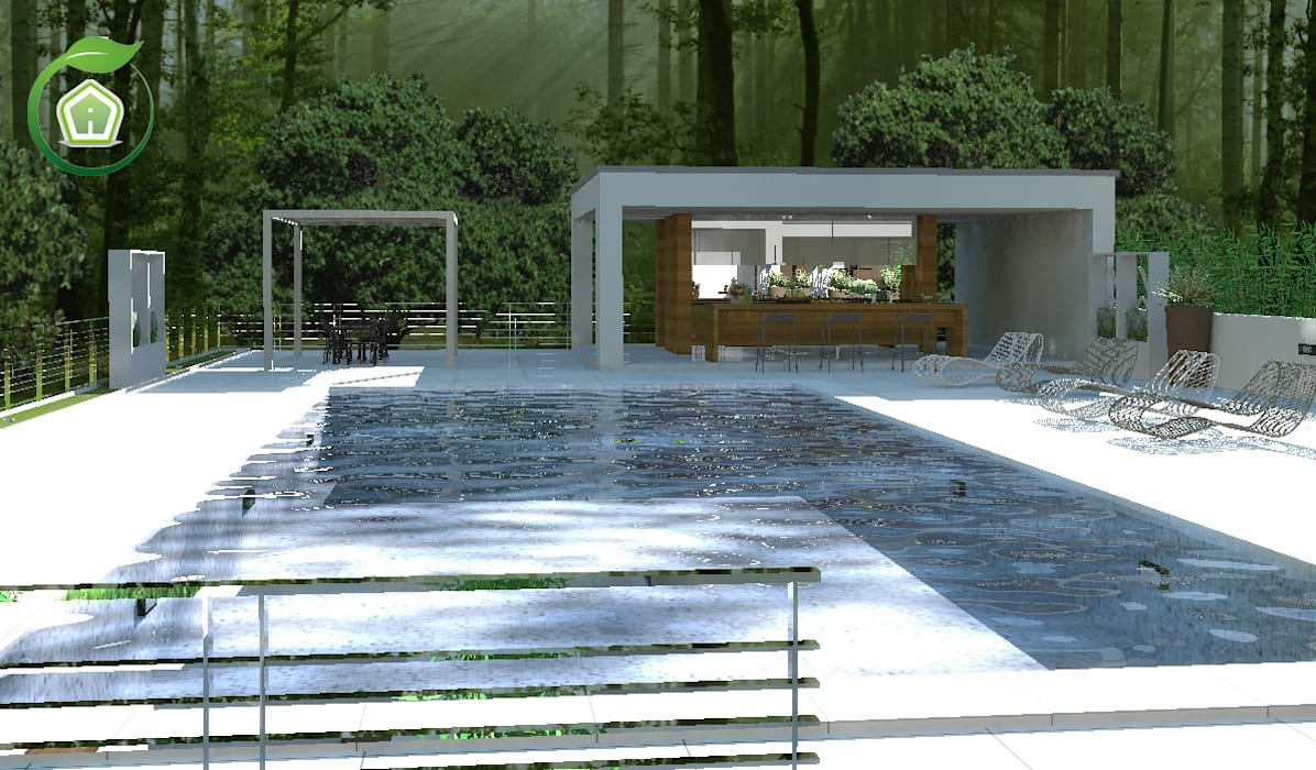 Garten von 3d casa design homify - Design giardini esterni ...