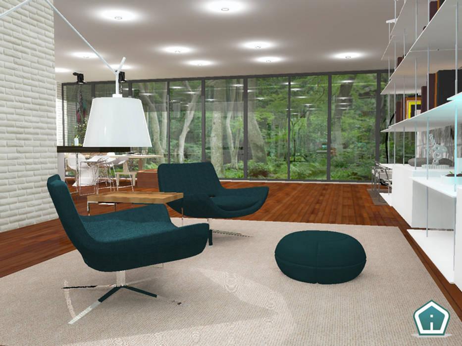 Soggiorni: Soggiorno in stile in stile Moderno di 3d Casa Design