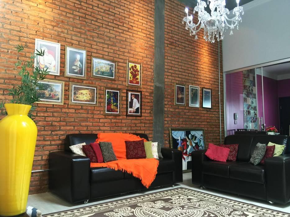 Nowoczesny salon od TRES MAIS arquitetura Nowoczesny