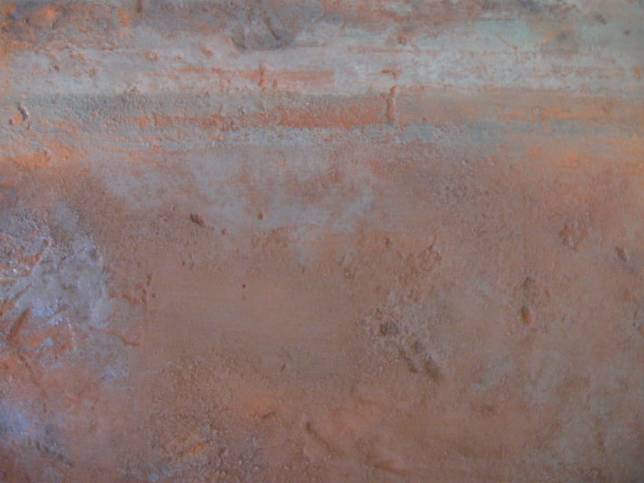 texture et matière: rouille et fer: Murs de style  par les ateliers decodalice