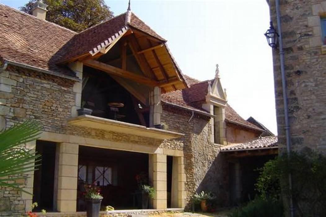 Projet Dordogne Fenêtres & Portes rurales par Agence Inside DECO Rural