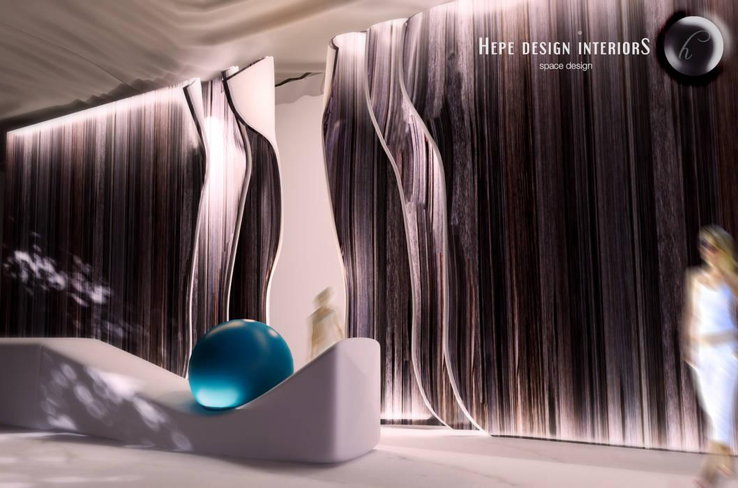 5star Hotel in İstanbul Modern Oteller HePe Design interiors Modern