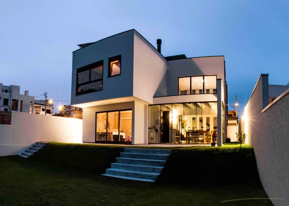 cunha² arquitetura Casas de estilo minimalista Madera