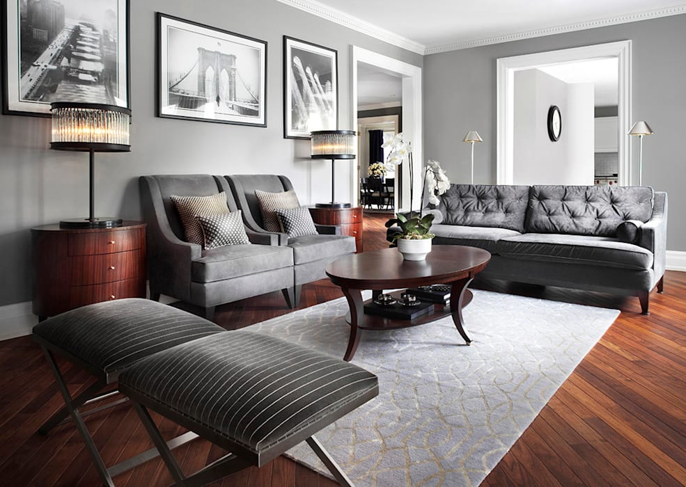 Classic style living room by ANNA DUVAL Classic