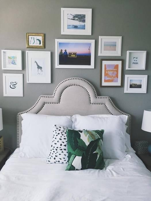 Espacios decorados by Wallart Murs & Sols modernes par CUSTOMS handmade Moderne