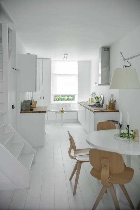 Woonhuis   Delft Scandinavische keukens van Design Studio Nu Scandinavisch