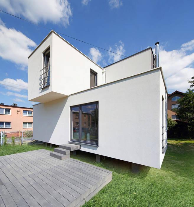 CUBE-2-BOX HOUSE Minimalistyczne domy od Zalewski Architecture Group Minimalistyczny