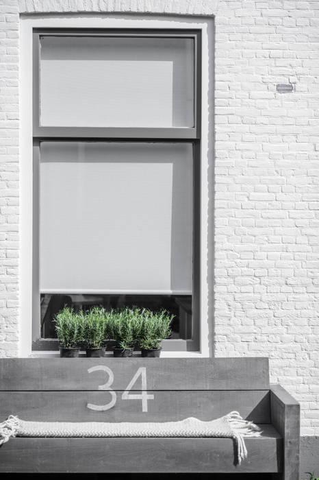 Woonhuis Delft :  Huizen door Design Studio Nu, Scandinavisch Stenen