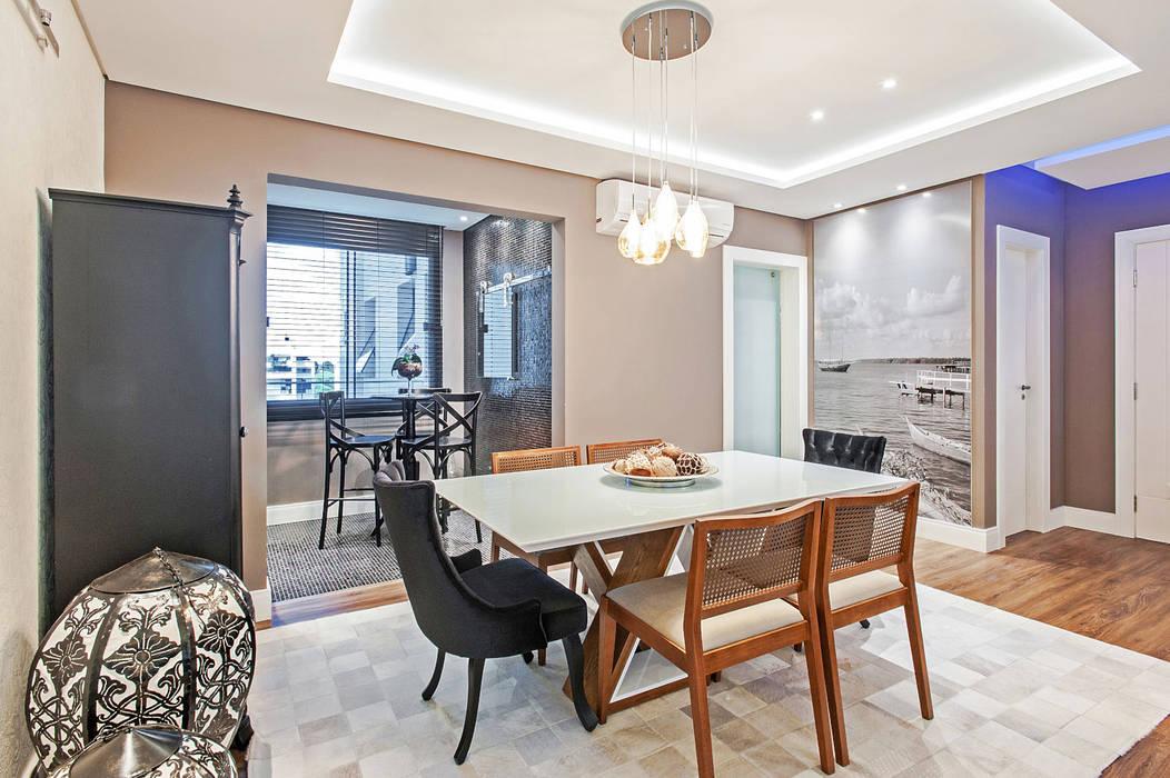 Apartamento 601 Salas de jantar modernas por Patrícia Azoni Arquitetura + Arte & Design Moderno