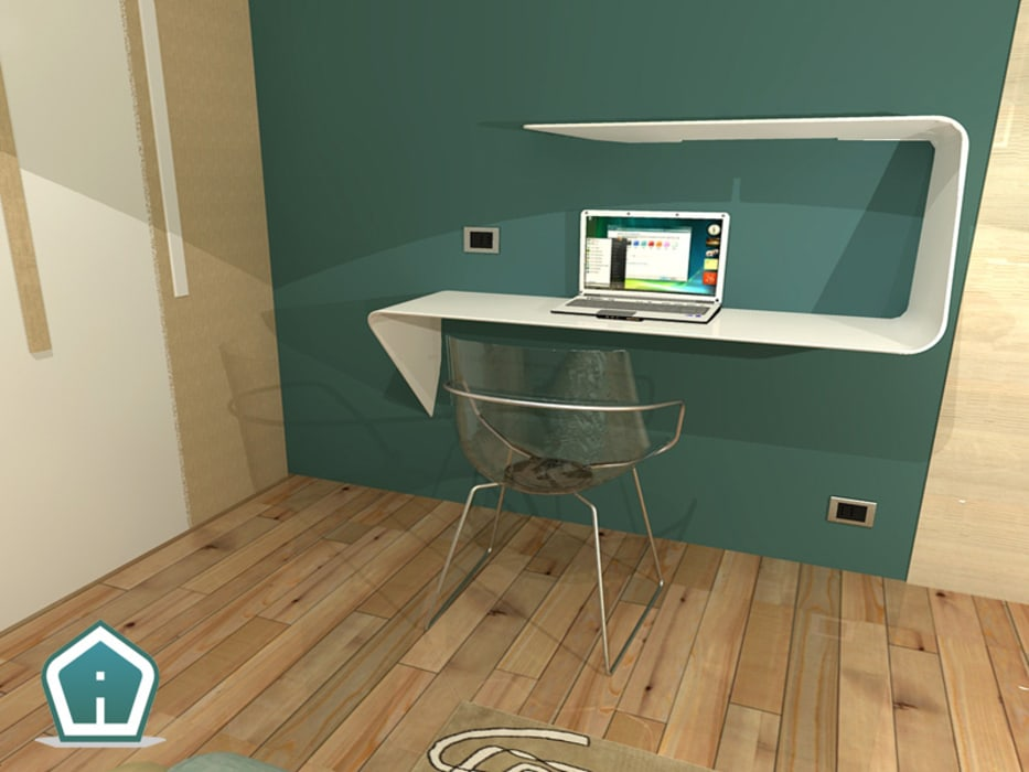 Camere: Studio in stile  di 3D Casa Design