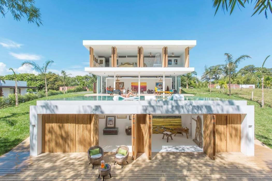 Casa Galeria: Casas de estilo  por Giovanni Moreno Arquitectos,