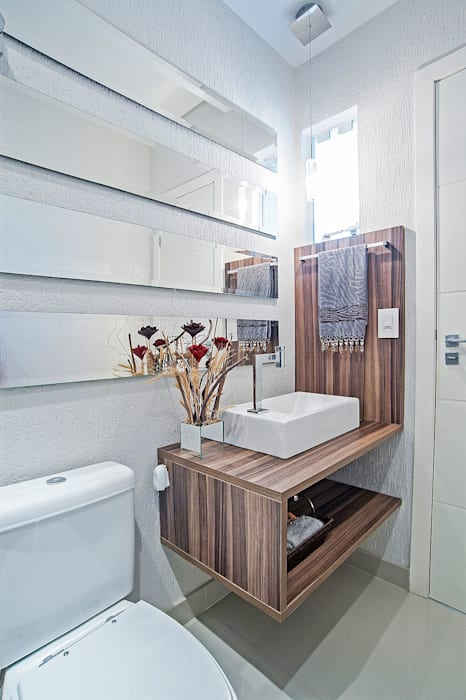 Salle de bain moderne par Patrícia Azoni Arquitetura + Arte & Design Moderne