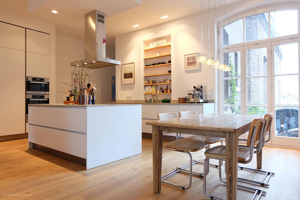 Küchen- Essbereich Moderne Küchen von Nickel Architekten Modern