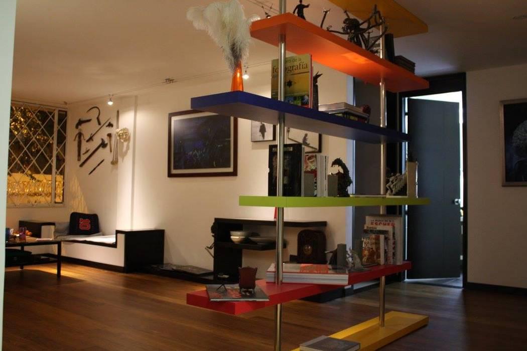 Apartamento Daniel Anzola: Salas de estilo  por Heritage Design Group