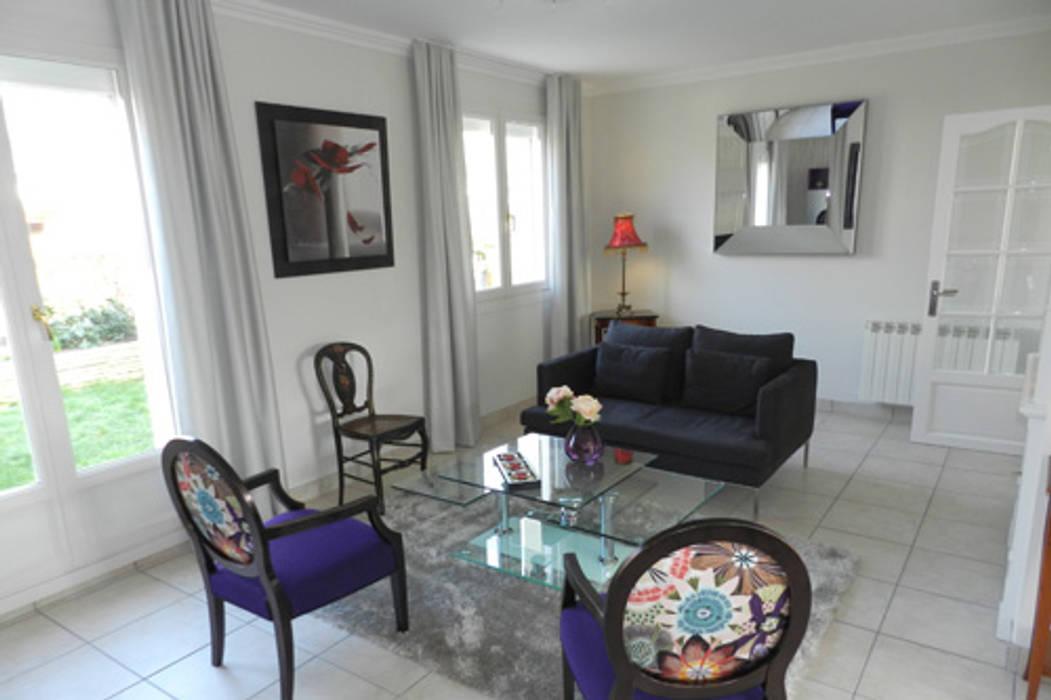 Exemples de réalisations de particulier Idées dans la maison Salon moderne