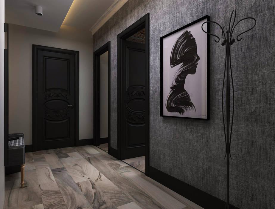Minimalist corridor, hallway & stairs by Ceren Torun Yiğit Minimalist