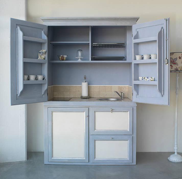 Minicucina cucina in stile di la bottega del falegname - Cucina falegname ...